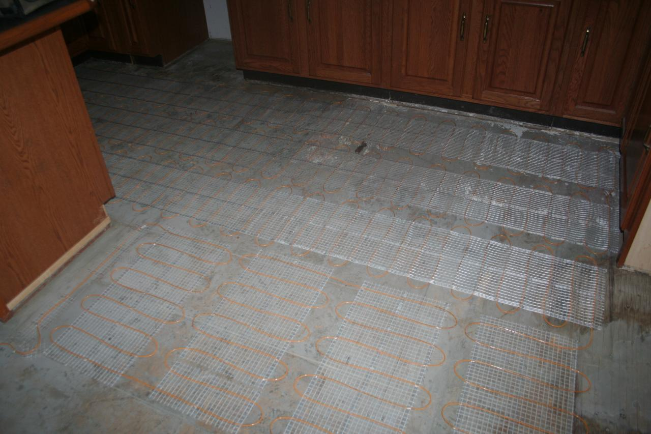 Heated Kitchen Floor Nest Homes Construction Kitchen Heated Tile Floorremodeling