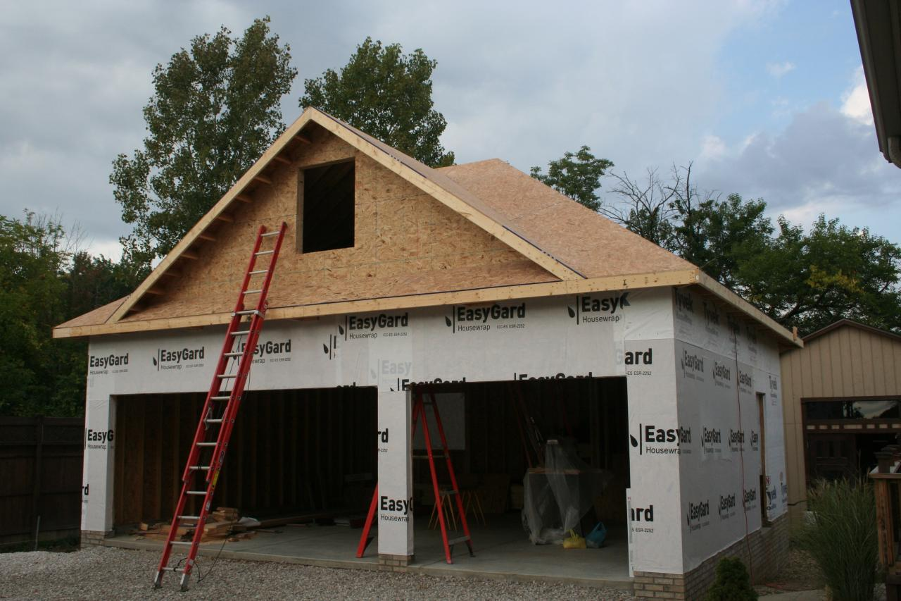 Garage Renovation Nest Homes Construction North Royalton 3 Car Garage With
