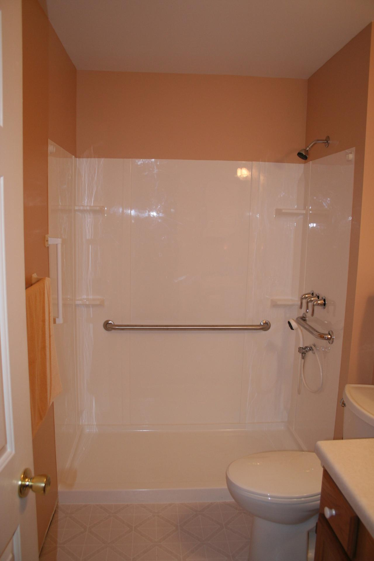 Nest Homes Construction Handicap Shower